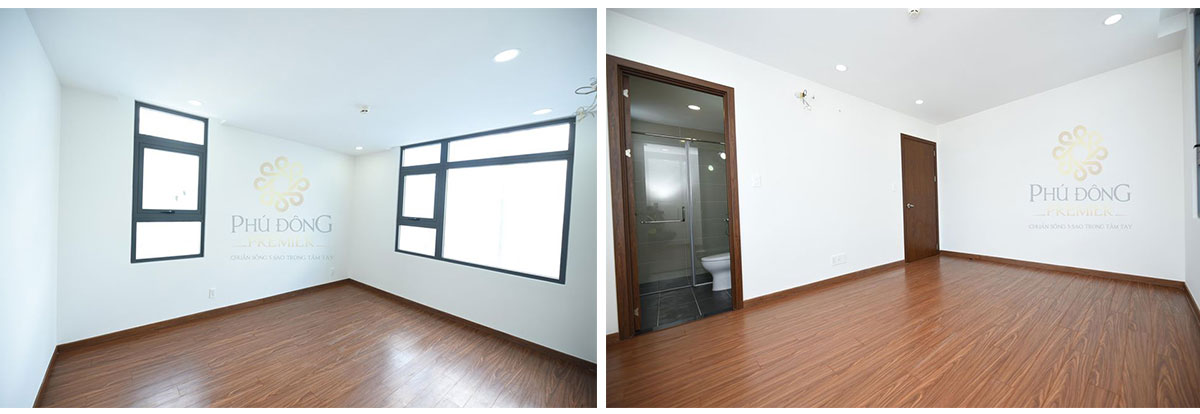 Phòng ngủ căn hộ Phú Đông Premier