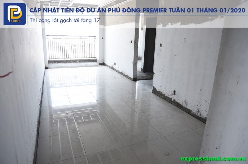 Phim tiến độ căn hộ Phú Đông Premier tháng 01/2020