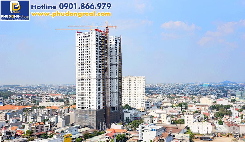 Tiến độ căn hộ Phú Đông Premier tháng 4/2020. Liên hệ 0901.866.979