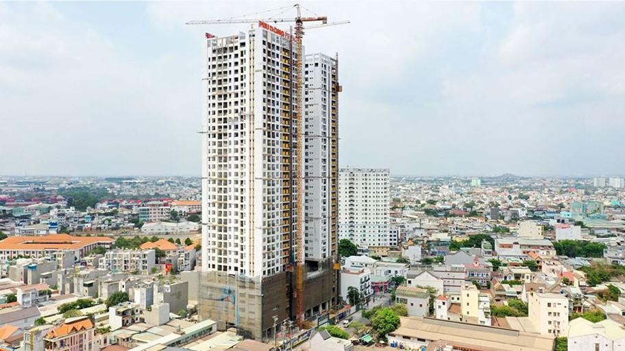 Tiến độ căn hộ Phú Đông Premier tháng 5/2020. LH 0901.866.979