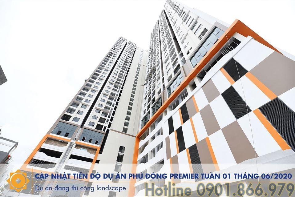 Tiến độ căn hộ Phú Đông Premier tháng 6/2020 | Hotline 0901.866.979